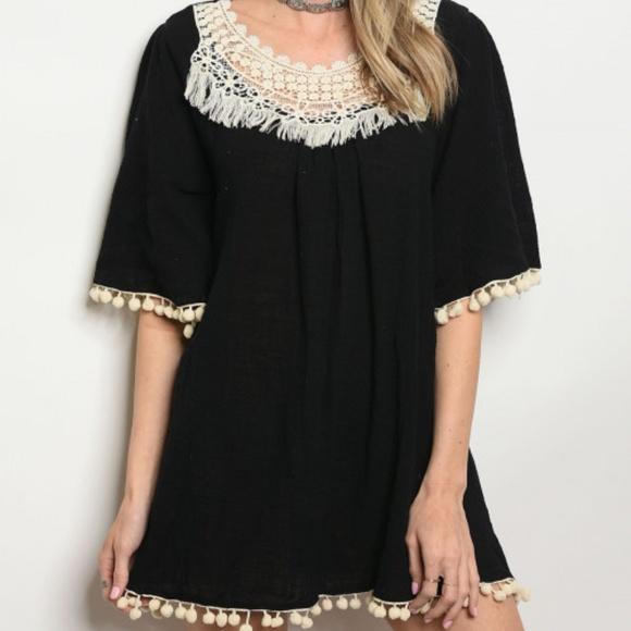 ... Dresses & Skirts - BOHO BEAUTY MINI DRESS